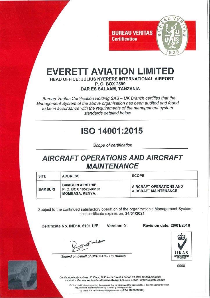 everett iso 14001 2015 exp 24 jan 2021